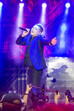 World Famous British Pop-Singer John Newman Performing at A-Fest Music Festival. Minsk, Belarus-August 12, 2017: World Famous British Pop-Singer John Newman Royalty Free Stock Images