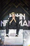 World Famous British Pop-Singer John Newman Performing at A-Fest Music Festival. Minsk, Belarus-August 12, 2017: World Famous British Pop-Singer John Newman Stock Photography