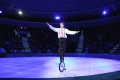 MINSK, BELARUS, BELORUSSIAN STATE CIRCUS, 2012 Royalty Free Stock Photography