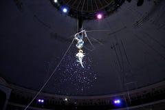 Minsk, Belarus, Belorussian State circus, 2012 Royalty Free Stock Image