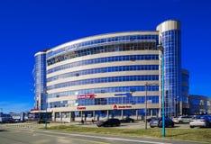 Minsk, Belarus, business center Pokrovsky Stock Image
