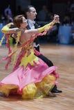 Minsk, Belarus-Febriary 14, 2015: Senior Dance couple of Sergey Royalty Free Stock Photography