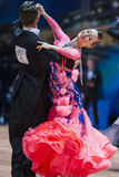 Minsk, Belarus-February 14, 2015: Professional Dance Couple of K Royalty Free Stock Image