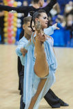 MINSK-BELARUS, FEBRUARY, 9: Unidentified Dance Couple Performs A Stock Photos