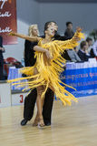 MINSK-BELARUS, FEBRUARY, 9: Unidentified Dance Couple Performs A Stock Image