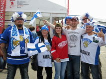 Minsk Belarus : Ice Hockey 2014 World Championship Stock Photo