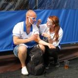 Minsk Belarus : Ice Hockey 2014 World Championship Royalty Free Stock Images
