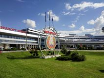 Minsk - National Airport royalty free stock image