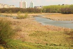 Minsk, Belarus, landscape. Royalty Free Stock Images