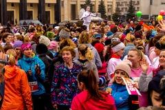 Minsk, Belarus 8. MÄRZ 2017 Stockfoto