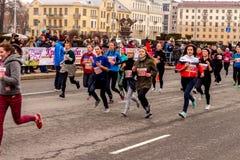 Minsk, Belarus 8. MÄRZ 2017 Lizenzfreies Stockfoto