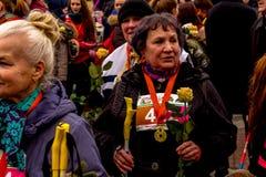 Minsk, Belarus 8. MÄRZ 2017 Lizenzfreie Stockfotografie