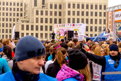 Minsk, Belarus 8. MÄRZ 2017 Lizenzfreie Stockfotos