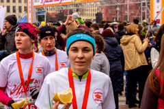 Minsk, Belarus 8. MÄRZ 2017 Stockbilder
