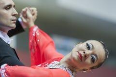 Minsk-Belarus, March, 16: Seleznev Andrey – Inna Selezneva per Royalty Free Stock Photography