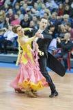 Minsk-Belarus, March, 16: Sergey Domorad – Svetlana Domorad pe Royalty Free Stock Photography