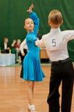 MINSK-BELARUS, MAY 29: Unidentified Dance Couple Stock Photo