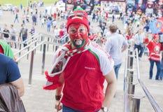 Minsk-Belarus, May, 20: Ice-Hockey Fans In Minsk having Fun Prio Stock Photo