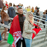 Minsk, Belarus, 09-May-2014: Minsk-Arena Complex,  Royalty Free Stock Photos