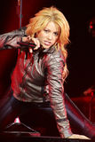 MINSK, BELARUS - MAY 20: Shakira performs at Minsk-Arena on May 20, 2010 in Minsk, Belarus. Shakira performs at Minsk-Arena on May 20, 2010 in Minsk, Belarus Royalty Free Stock Photos
