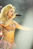 MINSK, BELARUS - MAY 20: Shakira performs at Minsk-Arena on May 20, 2010 in Minsk, Belarus. Shakira performs at Minsk-Arena on May 20, 2010 in Minsk, Belarus Royalty Free Stock Photo