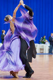 MINSK-BELARUS, OCTOBER 9: Dance Couple Royalty Free Stock Images