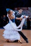 MINSK-BELARUS, OCTOBER 9:Dance Couple Royalty Free Stock Photos