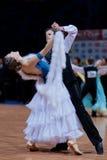 MINSK-BELARUS, OCTOBER 9:Junior Dance Couple Stock Photos