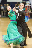 Minsk-Belarus, October 5, 2014: Professional dance couple of Ale Stock Photos