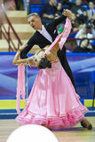 Minsk-Belarus, October 5, 2014: Unidentified Professional dance Stock Photography