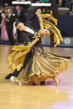 Minsk-Belarus, October 5, 2014: Unidentified Professional dance Stock Photo