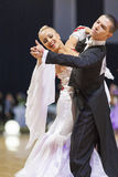 Minsk-Belarus, October 5, 2014: Unidentified Professional dance Royalty Free Stock Images