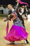 Minsk-Belarus, October 5, 2014: Unidentified Professional dance Royalty Free Stock Photos