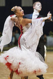 Minsk-Belarus, October 5, 2014: Unidentified Professional dance Royalty Free Stock Photo