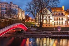 Minsk, Belarus: Traetskae Pradmestse, Trinity Suburb - historical center Stock Image