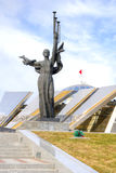 Minsk. Belarusian Great Patriotic War Museum and obelisk Minsk - Stock Image