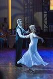 Minsk, Białoruś †'Wrzesień 26, 2015: Niezidentyfikowana taniec para Zdjęcia Royalty Free