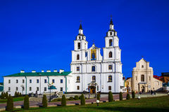 Minsk, Białoruś, Świętego ducha katedra Fotografia Stock