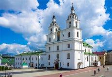 Minsk, Białoruś katedra Święty duch Zdjęcia Royalty Free