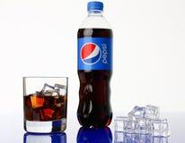 Minsk, Białoruś - 27 04 2018 Pepsi koli napój Obrazy Stock