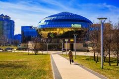 Minsk, Bielorrússia, abriga o comitê nacional de Olimpic imagem de stock