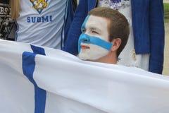 Minsk Bielorrússia: Campeonato mundial 2014 do hóquei em gelo Foto de Stock