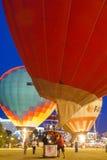 Minsk-Bielorrússia, o 19 de julho de 2015: Ar-balões internacionais durante Imagem de Stock
