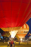 Minsk-Bielorrússia, o 19 de julho de 2015: Ar-balões internacionais durante Imagem de Stock Royalty Free