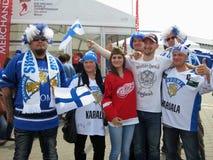 Minsk Bielorrusia: Campeonato 2014 del mundo del hockey sobre hielo Foto de archivo