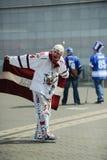 MINSK, BIELORRUSIA - 10 DE MAYO DE 2014: El campeonato del hockey sobre hielo del mundo Foto de archivo