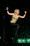 MINSK, BIELORRUSIA - 20 DE MAYO: Shakira se realiza en la Minsk-arena el 20 de mayo de 2010 en Minsk, Bielorrusia Fotografía de archivo libre de regalías