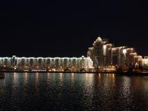 Minsk bij nacht Royalty-vrije Stock Fotografie