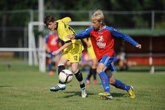 Minsk - Brasov bajo juego de fútbol 15 Imagen de archivo