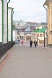 minsk Calle de Herzen Fotos de archivo libres de regalías